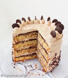 Easy Cake Recipes, Baking Recipes, Cookie Recipes, Dessert Recipes, Nutella Chocolate Cake, Nutella Recipes, Pastry Cake, Cake Flavors, Cupcake Cakes