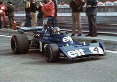 1974 GP Hiszpanii (Patrick Depailler) Tyrrell 006 - Ford