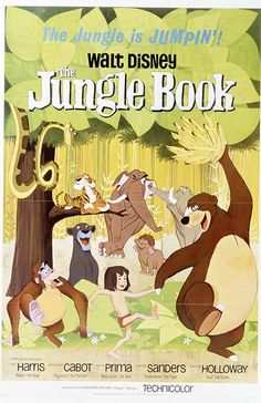 The Jungle Book Movie Poster 1967