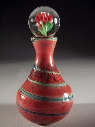 Hand blown glass