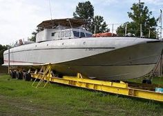 "PT-8 - the last surviving ""experimental"" boat from when they were being tested; also the only surviving aluminum PT boat."