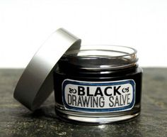 DIY Black Drawing Salve Recipe - Natural Home Remedy for Poisons, Boils, Acne, Insect Bites, Bee Stings, Splinters and Infections