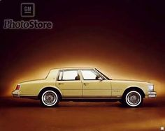 Had a beautiful 1978 Cadillac Seville Elegante, this color with a light beige vinyl top and wheel on trunk cover, leather seats, all automatic.  Nice, smooth ride.