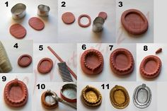 These photos only, but very informative!  polymer bezel housing How to. by curlyzoitsa
