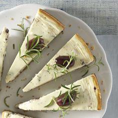 savory kalamata cheesecake. the hubster would LOVE this!