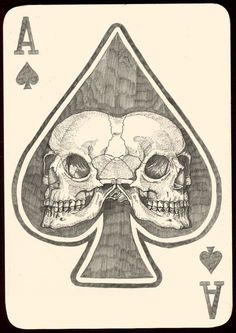 Ace of Spades by Artist FuneralFrench