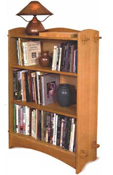 Weekend Project: Build an Arts and Crafts Bookcase - Fine Woodworking Article