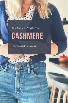 Buying secondhand cashmere online is super easy with these tips.