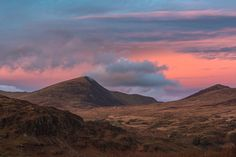 'The Slippery Witch' - Snowdonia - Kristofer Williams - Pen Llithrig Y Wrach mountain in the Ogwen Valley in Snowdonia at sunset from a descent of Moel Siabod. The english translation is Peak of the Slippery Witch.  -  http://ift.tt/2hlukH3 IFtemppicpinned in Building blocksdownld in ios #December 24 2016 at 11:56AM#via IF