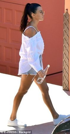 Over it: Kourtney has seemingly moved on from her split with Scott in July 2015 - which wa...