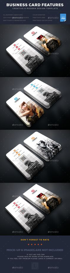 Photography Business Card — Photoshop PSD #designer #both side design • Available here → https://graphicriver.net/item/photography-business-card/17795834?ref=pxcr