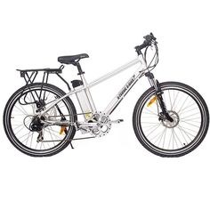 X-Treme Trail Maker Electric Mountain Bike Are you looking for the perfect e-bike for cruising the city or bike path? You're in the right place. You've found one of the best electric mountain bikes un Electric Mountain Bike, Mountain Bicycle, Electric Bicycle, Mountain Biking, Mens Frames, Chain Drive, Bike Frame, Aluminum Wheels, Cool Bikes