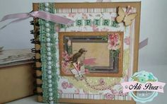 Mini álbum shabby chic bobunny