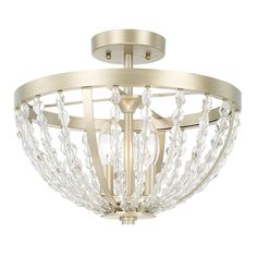 3 Light Semi-Flush | Capital Lighting Fixture Company