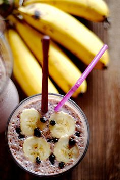 Blueberry Oatmeal Supershake