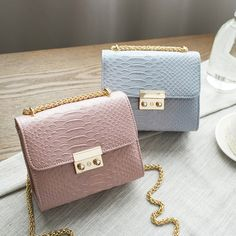 2017 Spring and summer fashion mini bag chain women's handbag small laptop messenger shoulder bag with chain candy color DF525