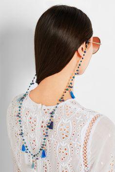 A volta das correntes para óculos. A forma mais cool de usar está aqui! – We Fashion Trends Men Eyeglasses, Bohemian Bracelets, Chain, Luxury Sunglasses, Sunglasses Sale, Lanyards, Designer Handbags, Fashion Trends, Beads