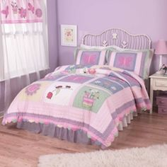 Take a look at our clever purple kids rooms. Take an additional 10% with coupon Pin60 at www.CreativeBabyBedding.com