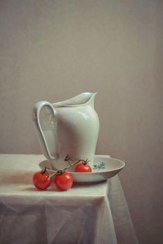 Этюд с черри №1© anyula  #Still #Life #Photography