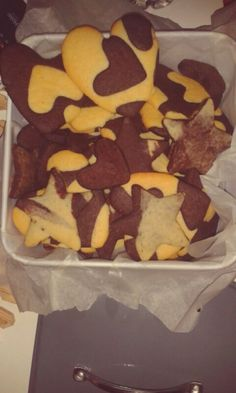 Biscotti cuori e stelle