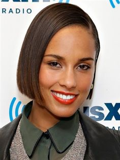 Alicia Keys Bob Hairstyle