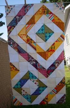 Quilt. Like the varying background whites
