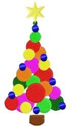 Christmas Ball Tree 4x4 | Christmas | Machine Embroidery Designs | SWAKembroidery.com Tyme 2 Stitch