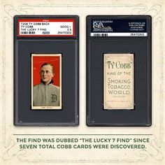 Seven Rare Ty Cobb Baseball Cards Found in Old Paper Bag - NBC News
