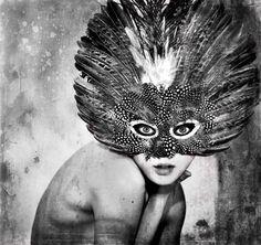 "Saatchi Online Artist: Elena Gallotta; Digital, 2009, Photography ""t h e o w l"""