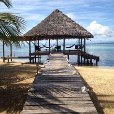 "The ""lobby"" at Casa Cayuco resort | Just Back from Panama | www.fathomaway.com"