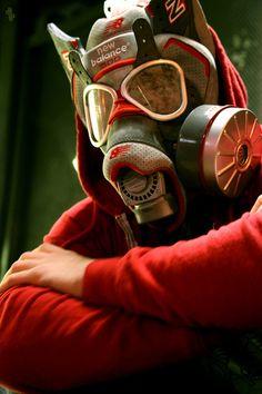 New Balance 1500 X Nice Kicks Branding Wars Gas Mask Art Print
