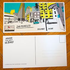 Around the World in 80 Days - with Street View Sketches by Lehel Kovacs — Kickstarter