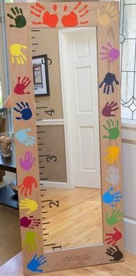 school auction class project ideas | GREAT school auction projects here. This was made by a friend with the ...