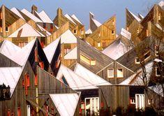 La Pièce Pointue – Atelier Iwona Buczkowska Habitat Collectif, Co Housing, Haute Marne, Architecture, Habitats, Geometry, Building, Wood, Projects