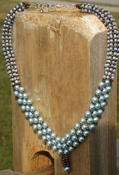 Right angle weave pearls