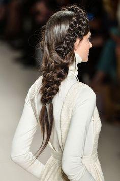 Top 60 All the Rage Looks with Long Box Braids - Hairstyles Trends Box Braids Hairstyles, Braided Crown Hairstyles, 2015 Hairstyles, Cool Hairstyles, Casual Hairstyles, Medium Hairstyles, Catwalk Hair, Runway Hair, Long Box Braids