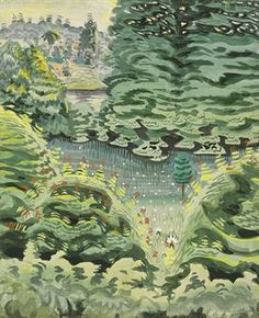 CHARLES BURCHFIELD In a Green Dale (1917)