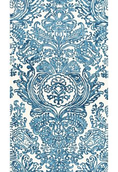 "Schumacher  Tremezzo Damask  Caspian  Fabric SKU - 175090  Repeat - Straight  Width - 55""  Horizontal Repeat - 55""  Vertical Repeat - 98""  Fabric Content - 100% Linen  Country of Finish - Italy  Cut and Sold by the Repeat.  Available colorways   View All  175090 - Caspian  175091 - Graphite"