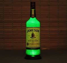 Jameson Irish Whiskey Liquor Bottle Lamp by BodaciousBottles, $44.95