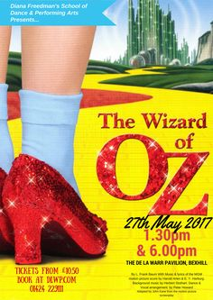 The Wizard of OZ - DLWP, The De La Warr Pavilion, Bexhill, East Sussex