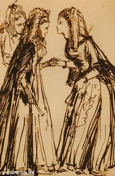 Revealing: Three previously unknown drawings by the Pre-Raphaelite master Dante Gabriel Rossetti have been discovered Pre Raphaelite Brotherhood, Dante Gabriel Rossetti, Daughter Of Zeus, English Poets, Under The Hammer, John William Waterhouse, Complicated Relationship, Farm Hero Saga, Romanticism