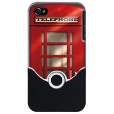 British Red Phonebox iPhone Case    I sooo liked it!