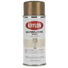 Get Gold Chiffon Krylon Marbelizing Spray online or find other Spray Paint…