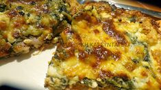 Σουφλέ σπανάκι με σφολιάτα-μπέικον -τυρί !!! ~ ΜΑΓΕΙΡΙΚΗ ΚΑΙ ΣΥΝΤΑΓΕΣ 2 Cookbook Recipes, Cooking Recipes, Healthy Recipes, Different Recipes, Other Recipes, Cetogenic Diet, Fast Easy Meals, Spinach Recipes, Pizza