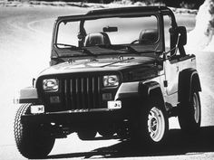 1987 jeep [This was fun in the TX hill country, but in the summer it got hot. ~sdh]
