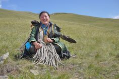 Visit with a Mongolian shaman   Flickr - Photo Sharing!