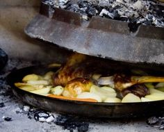 Cooking Croatia: Roasted Lamb Under The Bell - Honest Cooking