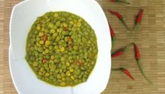 Traditional Curry Pigeon Peas Recipe.