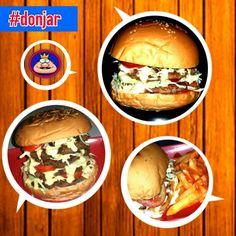 #burger #bigburger #donjar #food #foodporn