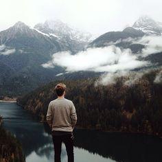 The Cascade Mountains.   Washington. Home.